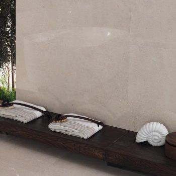 Porcelanosa Durango Acero brillo 45x120cm tile